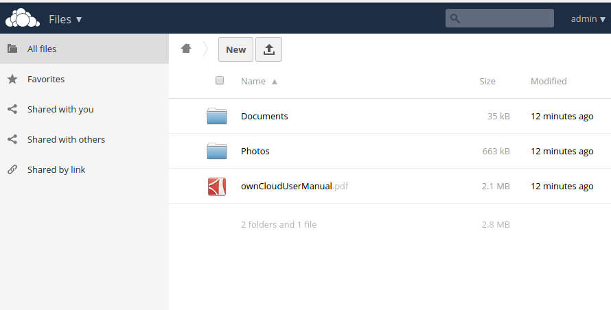 owncloud-filemanager